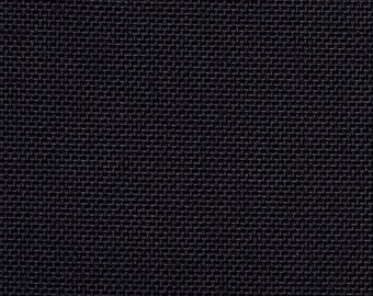 "Cordura Black 1000D Waterproof Coated Outdoor Fabric 60"" W By The Yard Cordura Nylon DWR"