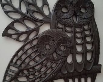 1978 Owl Wall Decor By Dart Industries