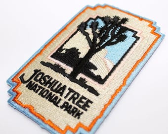 Official Joshua Tree National Park Souvenir Iron-on Patch California Scrapbooking FREE SHIPPING