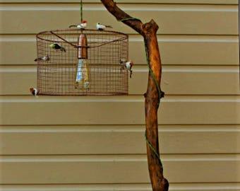 Industrial style Birdcage Bird Decor Lampshade