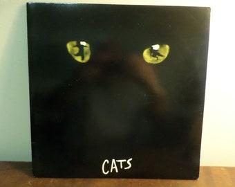 Vintage 1981 Vinyl LP Record Cats Motion Picture Soundtrack Excellent Condition 15780
