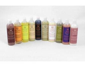 Ten Assorted African Liquid Body Wash