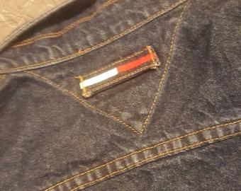 90s Tommy Hilfiger Blue jean jacket
