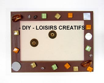 Leisure creative adults / children - Decoration frame 10x15cm or 13x18cm - all inclusive Kit