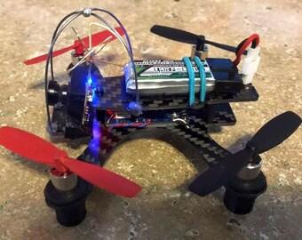 Bantam Micro Boxer Brushed FPV 105mm 1.5mm thick Carbon Fiber Quadcopter Frame