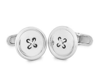 Bottons Sterling silver Cufflinks