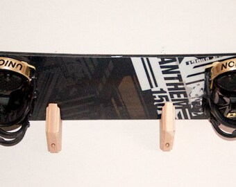 Snowboard Wall Rack Mount -- Holds 1 boards