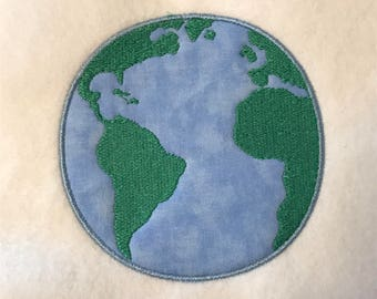 Earth Applique DOWNLOAD DIGITAL Design 4x4