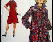 Vogue 9060  Misses' Dress  1970's  Size 12  UNCUT