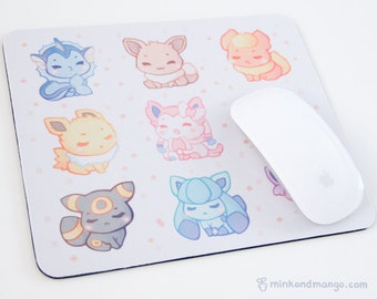 Eeveelutions Mousepad