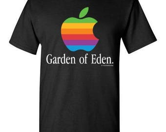 Garden of Eden - Apple Parody - T Shirt