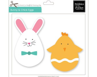 Bunny and Chick Digital Download