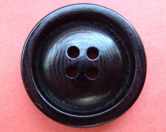 9 buttons black 23mm (6288) button