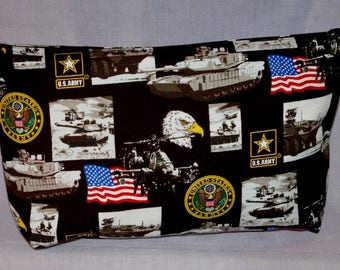 United States Army themed Zipper Bag