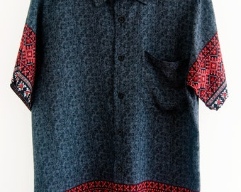 O'Carioca Paracas Short Sleeve Button Up Shirt with a relaxed fit.