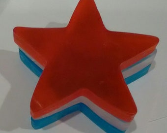 4th of July Soap