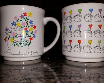 Sandra Boynton Recycled Paper Products cat mugs-selling individually