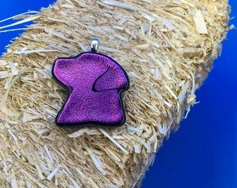 Holy Purple Labradors Batman!  (Pendant)