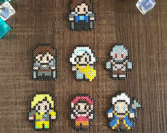 8Bit Critical Role Magnet Vox Machina Dungeons and Dragons DnD