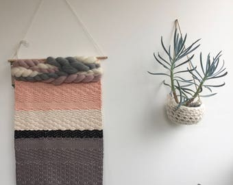 Cotton Banner Woven Wall Hanging