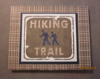 Hiking Trail Card