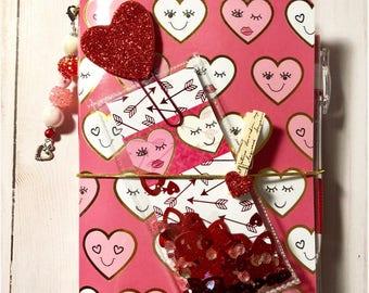 Valentine Galentine B6 TN Travelers Notebook Planner