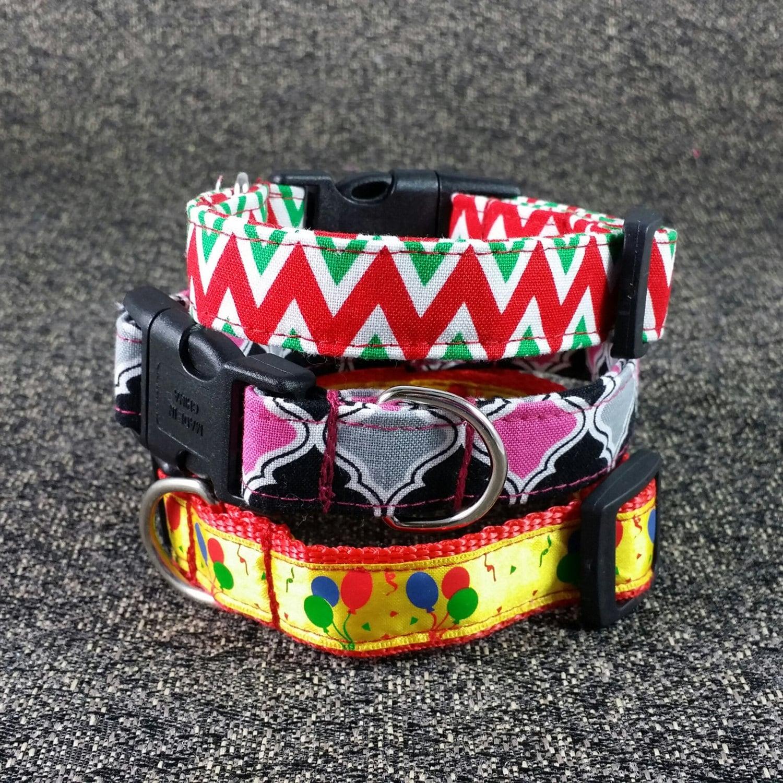 Dog collar sewing pattern pdf tutorial to make dog collars zoom jeuxipadfo Gallery