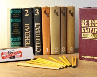 Vintage Pencils - Graphite Pencils - Set of Pencils - Drawing Pencils - Kohinoor Hardtmuth Pencils Made in Czechoslovakia - Graphite Drawing