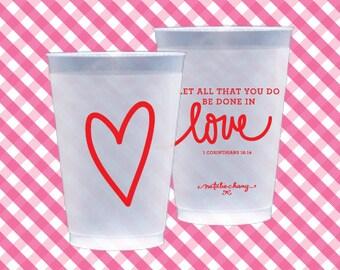 Jumbo Love Scripture   (reusable) - Qty 8