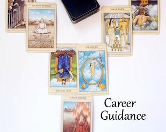 Career Reading, Tarot Card Reading, Tarot Reading, Same Day Reading, Same Day Psychic Reading by Life Coach with Advise Cards, Card Reading