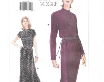 Vogue 9921, Very Easy Vogue, Easy Dress Pattern, Misses Dress, Women s Dress,  Sewing Pattern, Size 14-16-18, Uncut, Vogue Pattern b15769ce2465