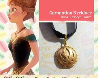 Disney Frozen Anna's Coronation Necklace