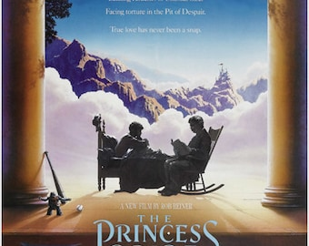 THE PRINCESS BRIDE classic movie poster fairy tale fantasy 1987 action 24X36