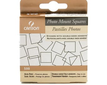 Canson archival photo mounting squares