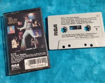 Elvis Presley - The Elvis Medley audio cassette tape