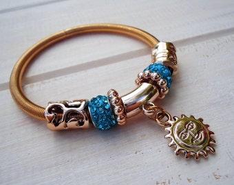 Gifts for sister Inspirational sunshine Bracelet gift mom gift Women bracelet Gift for Christmas Daughter gift Christmas gift Yoga bracelet