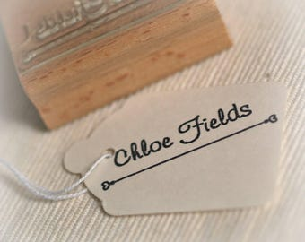 Your Name Personalised Rubber Stamp