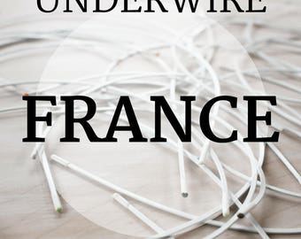 France Bra-Underwire: 1 Pair, sizes 30-46. Top Quality