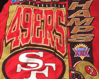 Vintage 49ers NFC Champs 1994 Shirt- L