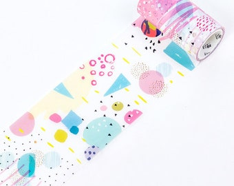 Washi tape-strokes and dots 2