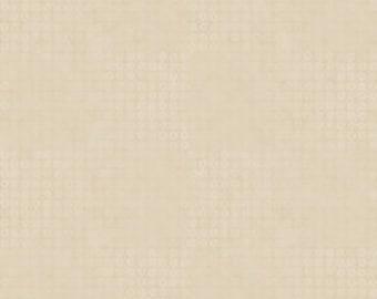 4520-306 CREAM QUILTER'S BASIC Harmony, Stof Fabrics, Quilt Shop Fabric, Beige or Off White,  Basic Background Fabric