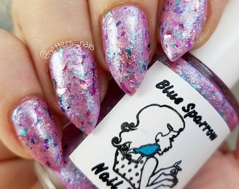 Unicorn Farts Nail Polish Cotton Candy Scented