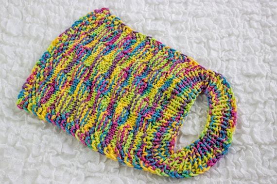 FREE KNITTING PATTERN, Knit Baby Bib Pattern, Easy Slip On Baby Bib ...