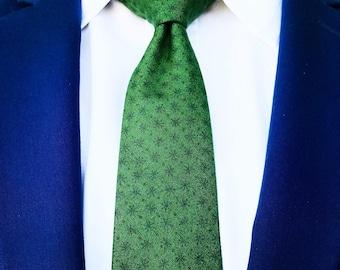 Green Asterisk Tie