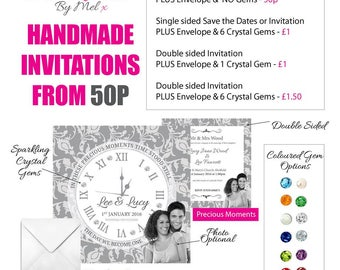Wedding Invitations from 50p