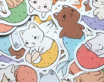 Mermews - Sticker Pack