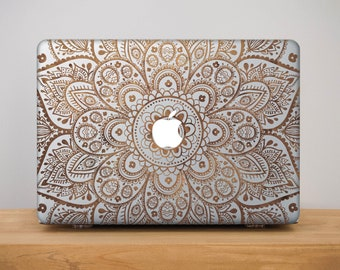 Mandala Macbook Pro 13 Case Macbook Pro 15 Case Macbook Air 13 Case Macbook Pro Hard Case Macbook Air Case Clear Macbook Case Gift PP2093