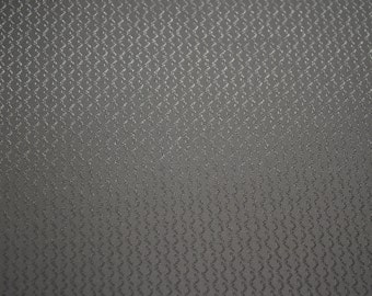 "Windsor Fabric 100% Polyester Slate Dazzle Fabric 60"" Wide By The Yard 36"" Long"