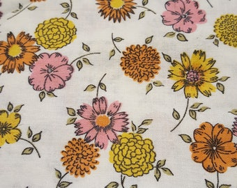 Vintage Feedsack Fabric
