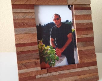 """Rustic Picture Frame """"Chianti"""" from RusticAndRawFrames // Picture Frames, Rustic Picture Frames, Rustic Frames, Picture Frame, Frames"""